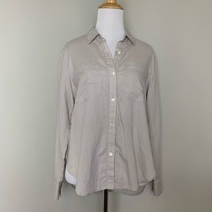 JAMES PERSE STANDARD BUTTON DOWN 1 NEUTRAL